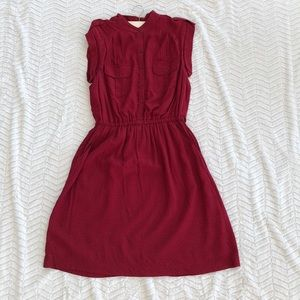 Gap Burgundy Dress
